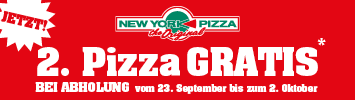 2. Pizza gratis jetzt